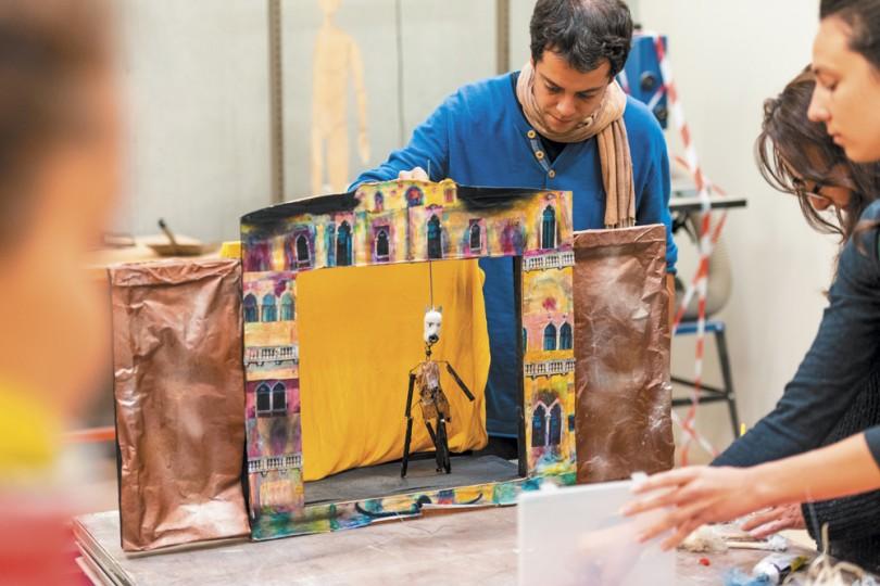 PREAC III, Les Arts de la marionnette au croisement des autres arts, 2019, photo : Hervé Dapremont