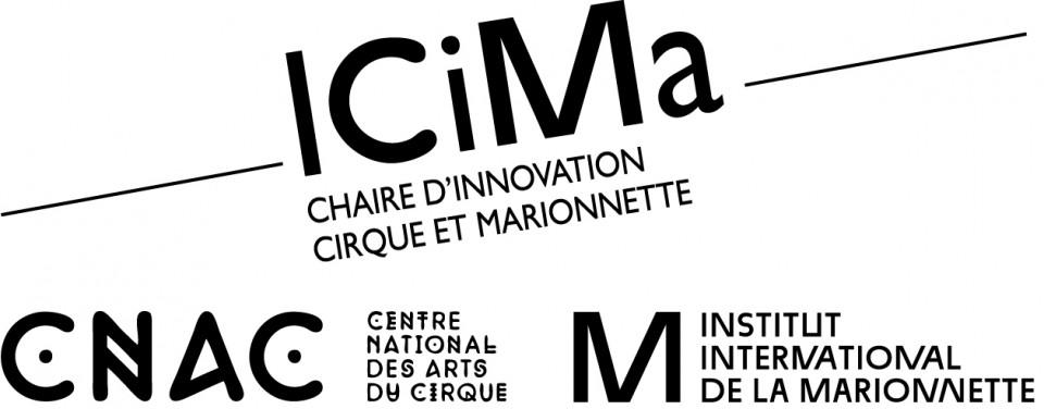logo ICiMa chaire d'inivation cirque et marionnette